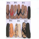 Footware-New Straw With Rubber Sole Slipper (Hong Kong)