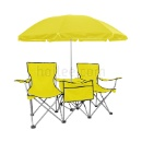Double Seat with Umbrella Table Set (Hong Kong)