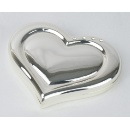 Heart Shape Compact Mirror (Hong Kong)