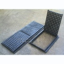 Cast Iron Square Hole Hinged Grating (香港)