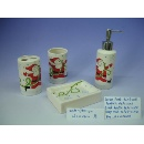 Dolomite Christmas Pattern Bathroom Set (Hong Kong)
