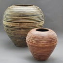 Colored Bamboo Vase (Vietnam)