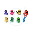 Super Men Pencil Top with Colours Painting & 6 Assorted (Hong Kong)