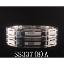 Stainless Steel Bracelet with CZ Stones (Mainland China)