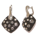 Black Diamond Earrings (Thailand)