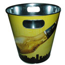 Round Tin Bucket (Hong Kong)