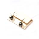 Tahitian Pearl Earrings (Hong Kong)