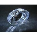 Crystal napkin ring (Hong Kong)