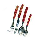Plastic-Handle Cutlery Set (China continental)