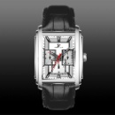 rectangular stainless steel men's Watch (China)
