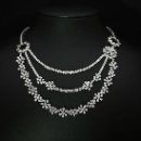 Flowery Diamond Necklace (Hong Kong)