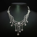 Ladies' White Gold Necklace (Hong Kong)