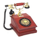 Antique Wooden Telephone (Hong Kong)