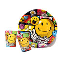 Smiley World Party Tableware (United Kingdom)