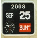 Flip Calendar Wall Clock (Mainland China)