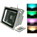 Outdoor Lighti60W RGB LED Flood Light Projector Street Tunnel Tube Bulb Spotlight (Mainland China)
