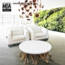 Driftwood Round Table 60 (Thailand)
