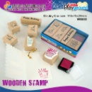 Wooden Stamp with Paper Box (Hong Kong)