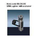 USB Lighter with Shaver (Hong Kong)