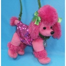 Stuffed Poodle Handbag (Hong Kong)