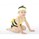 Lovely Carton Kid Swimwear with Swimming Cap (Hong Kong)