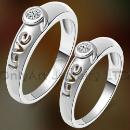 Sterling Silver Engagement Couple Jewelry (Mainland China)
