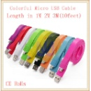 Colorful Micro USB Cable for Samsung Galaxy Note (Mainland China)