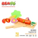 Wooden Toy Vegetable Set (China)