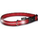 Nylon Dog Collar with LED Light (Hong Kong)