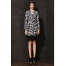 Ladies' Houndstooth Coat (Hong Kong)