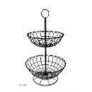 Double Layers Fruits / Food Wire Baskets (Hong Kong)