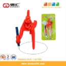 Plastic Math Compass and Divider for Teaching Aids (China)