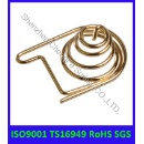 Battery Spring with Gold Plating (Mainland China)