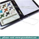 9 Crosses Pendent & Jewelry Box Set (Hong Kong)