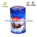 Metal Tea Tin Can With Inner Plastic Lid  (Mainland China)