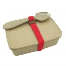 Rice Husk Fiber Lunch Box/ Bowl with Fork (Hong Kong)
