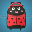 Kid's Trolley Bag With Ladybug Design (Hong Kong)