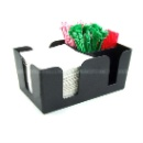 Black Acrylic Napkin Holder (China)