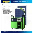 Portátil  Kit de energia solar (kong do hong)