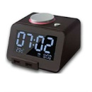 Bluetooth Speaker with Digital Alarm Clock and Multi Charger (Hong Kong)