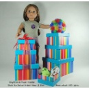 Vinyl Doll, Paper Mache Gift Boxes, EVA Bouquet with LED Light  (Taiwan)