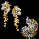 Yellow Diamond Jewelry Set   (Hong Kong)