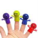 Plastic Smile Face Finger Puppet (Hong Kong)