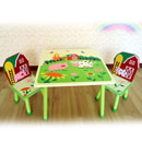 Children's Table and Chair Set (China)