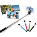 Wire Control Extendable Selfie Handheld Monopod Stick Holder for iPhone Samsung (China)
