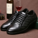 New Men's Genuine Leather Shoes Business Shoes Leisure Shoes (Mainland China)