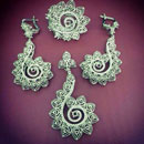 Pendant, Earring and Ring Set (Turkey)