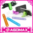 Mobile Phone Accessory Silicone M-Clips & Band Stand (Hong Kong)