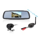 Car Mirror Monitor Wireless Rear View System (China)