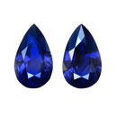 Paired Blue Sapphire (Thailand)